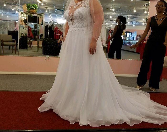 2020 wedding dresses!! Just bought mine!! 1