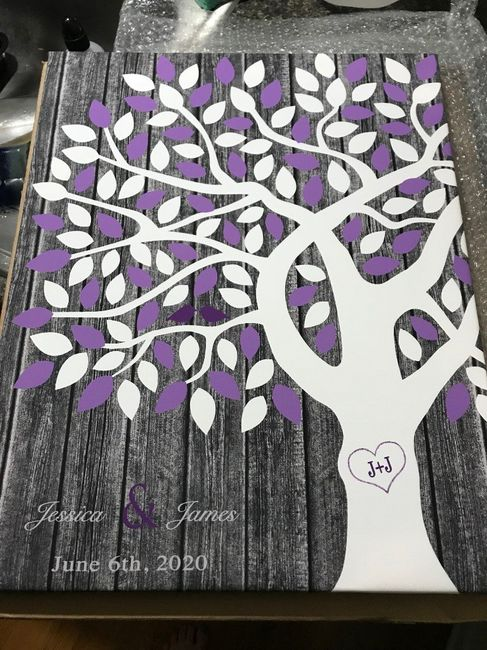 Help! Need creative ideas for a guest book. 1