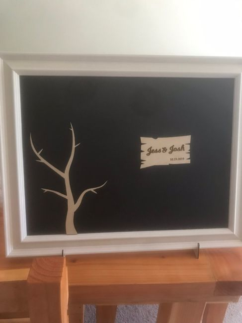 Help! Need creative ideas for a guest book. 15