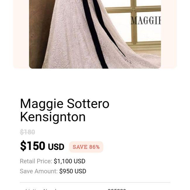 Low budget friendly wedding dress sites? 1
