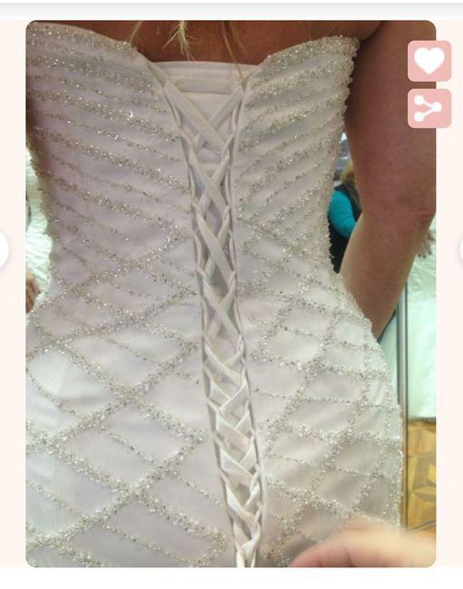 Dress size corsets - 1