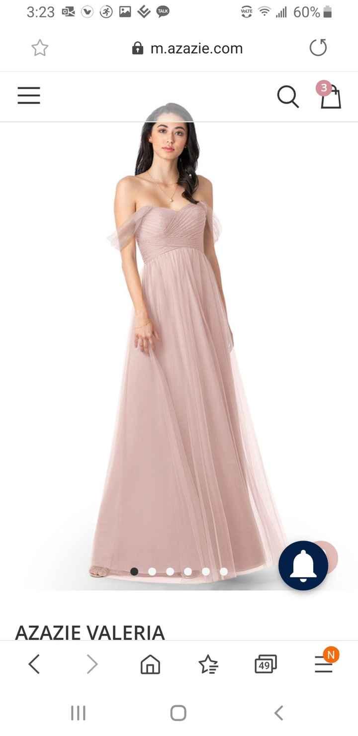 Bridesmaid dress- does this look like wedding dress? 2