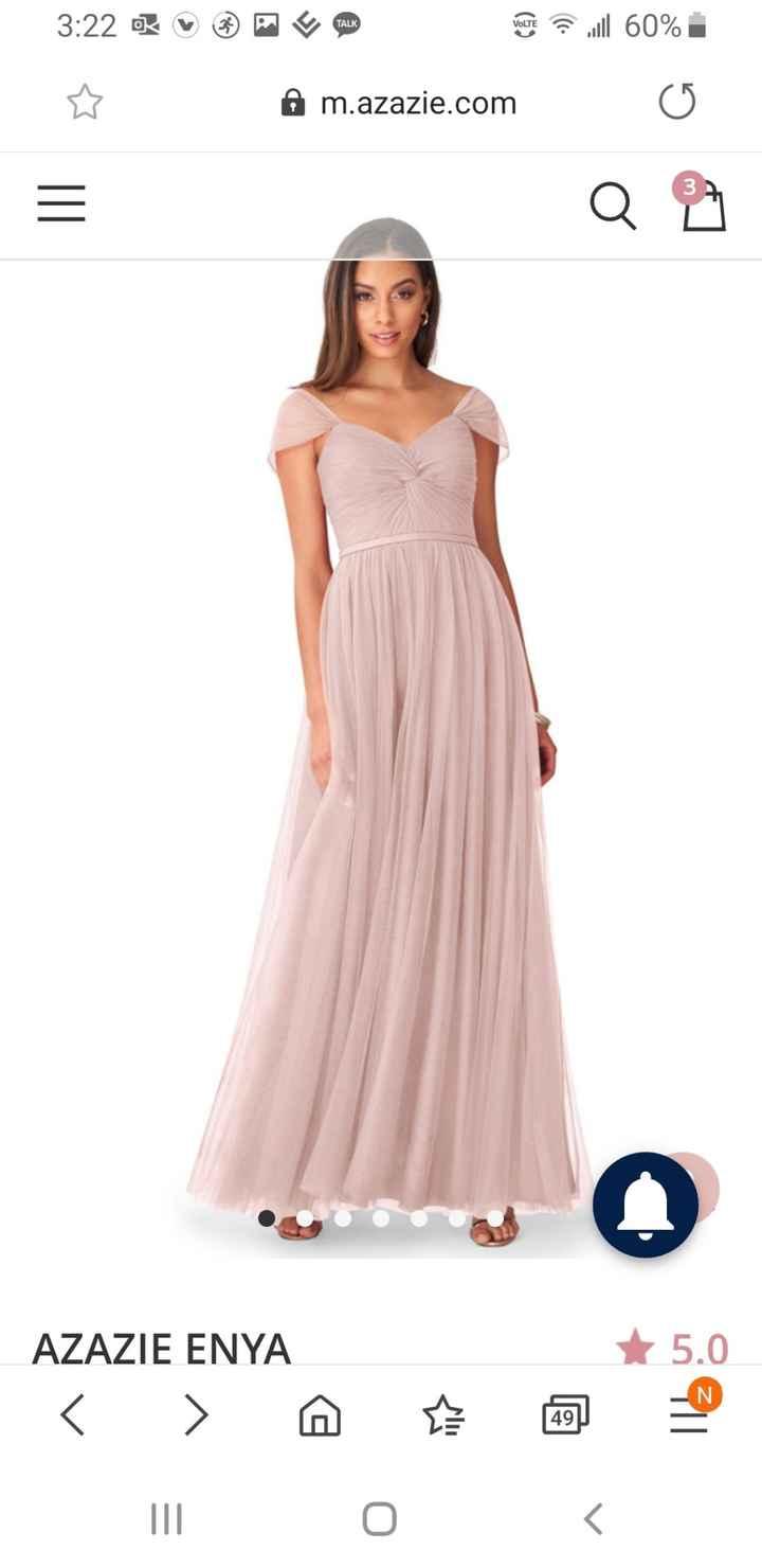 Bridesmaid dress- does this look like wedding dress? 3