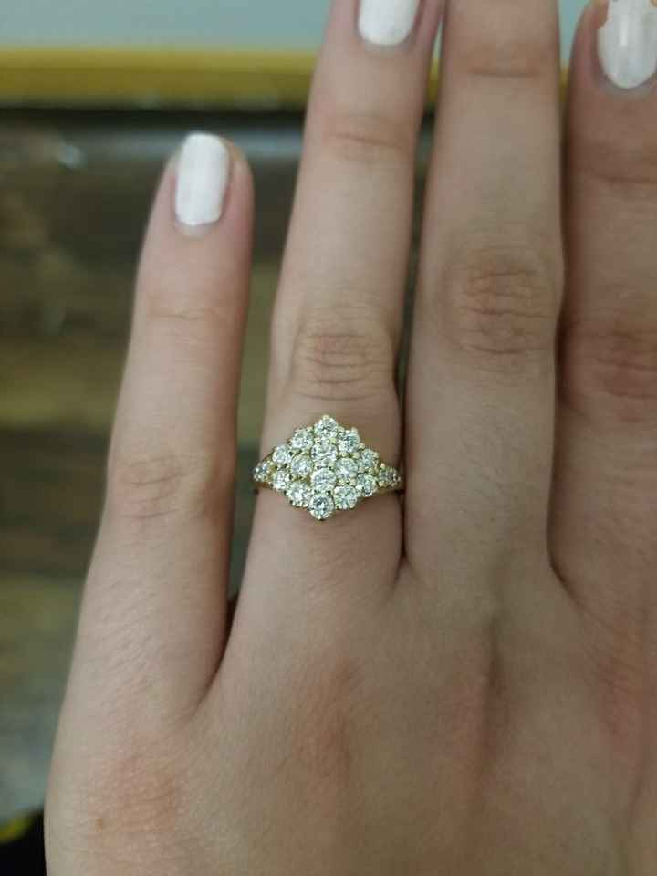 Who else received an heirloom ring?