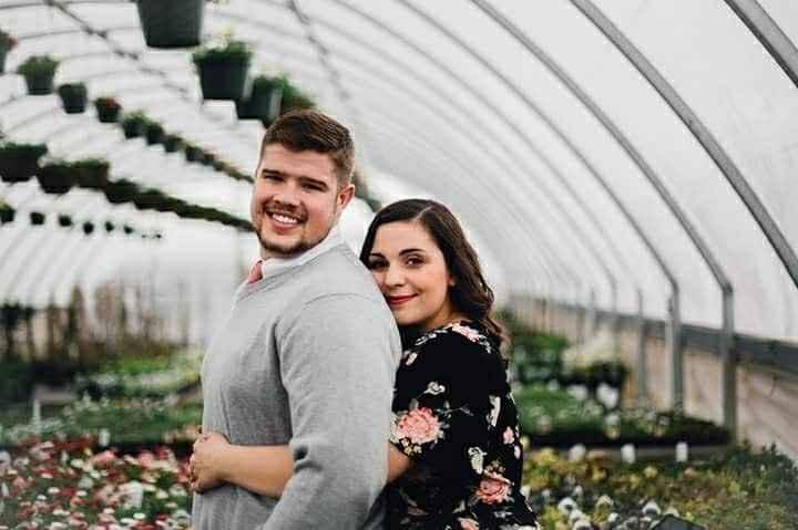 Engagement photo attire
