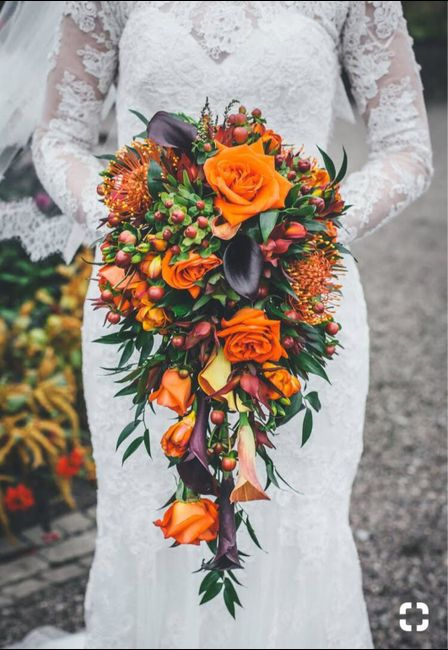 Fall Brides Drop Your Bouquet Inspiration 19