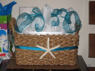 Diy Bridal Shower Gift Basket And Games Prizes Pics Weddings