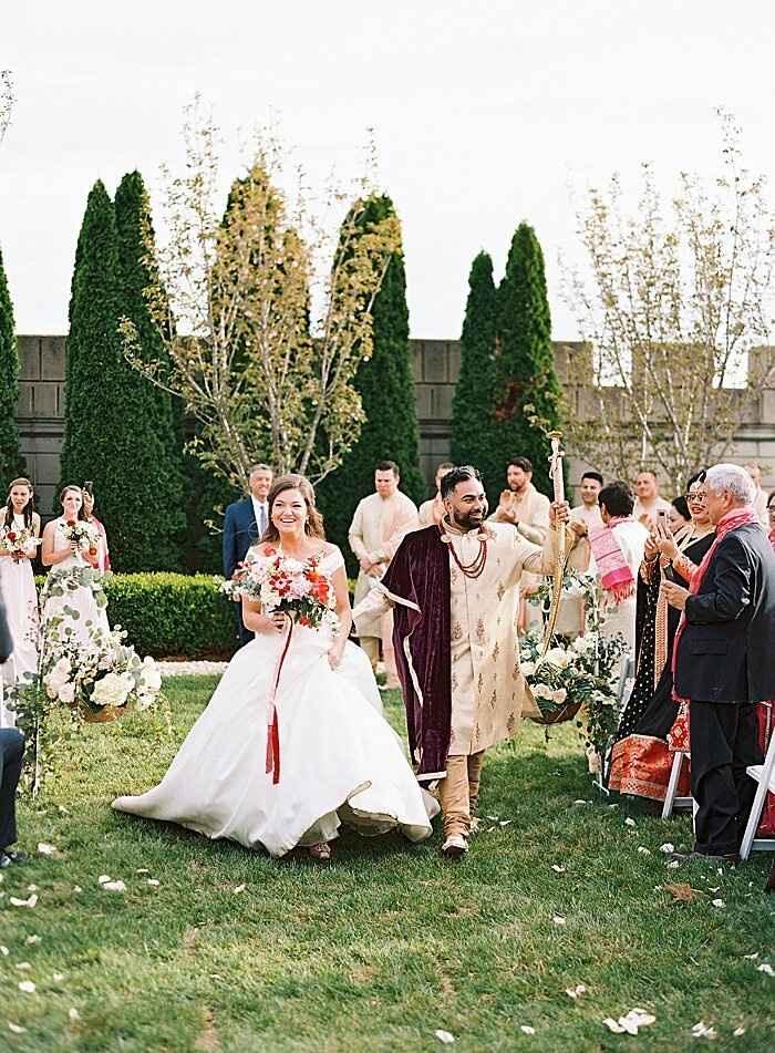 Indoor or outdoor ceremony In October? - 5