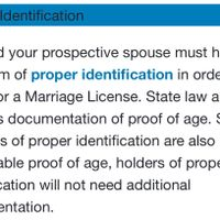 Birth certificate for marriage license - 1