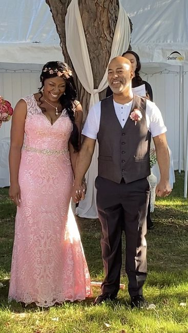 We are Married! 9.19.20! 1