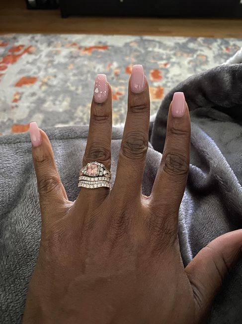 Sapphires as wedding rings! 9