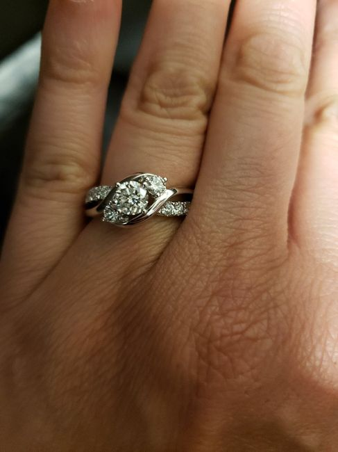 absolutely in love with my Ring. 7