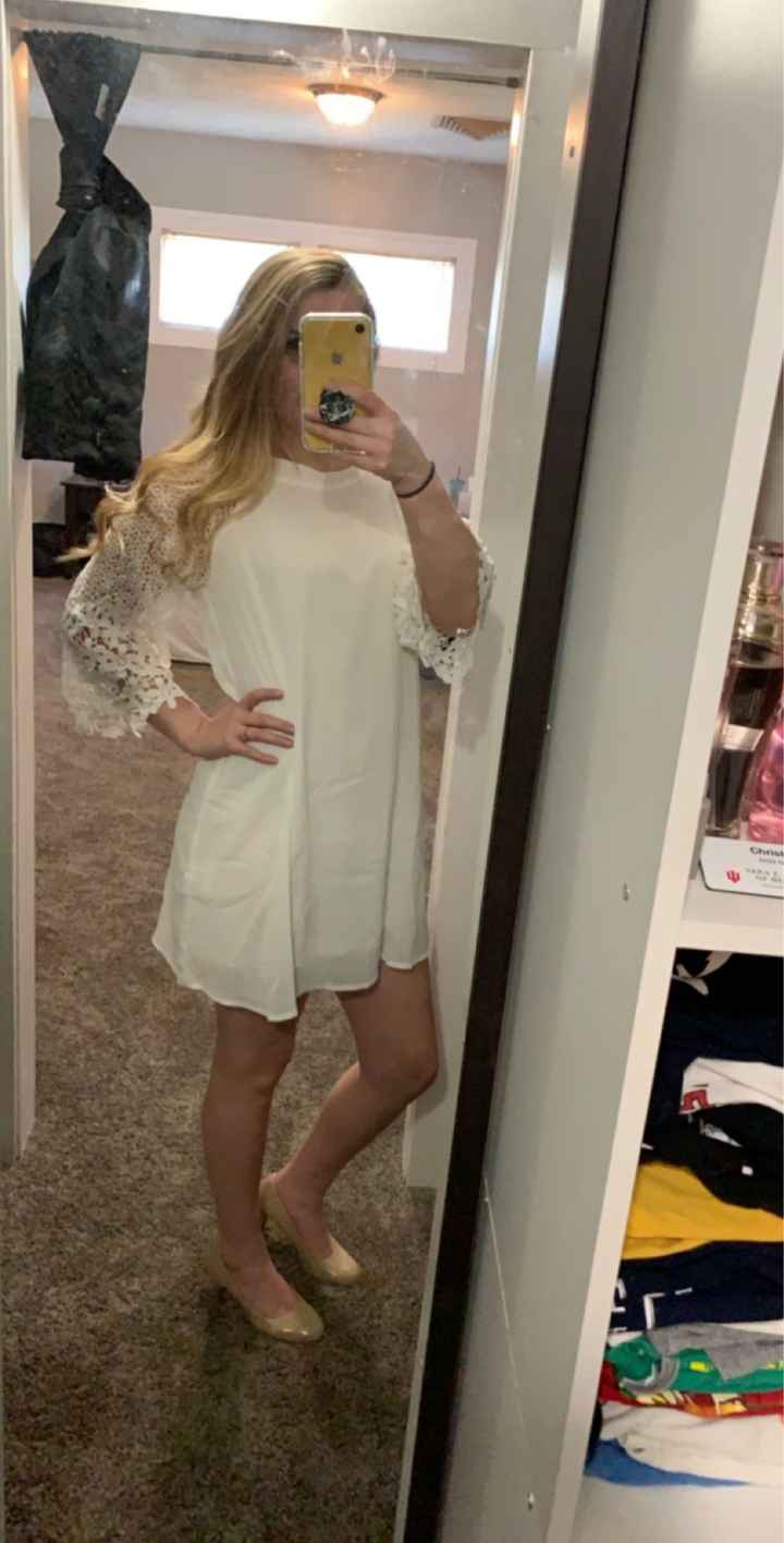 Bridal shower outfits - 1