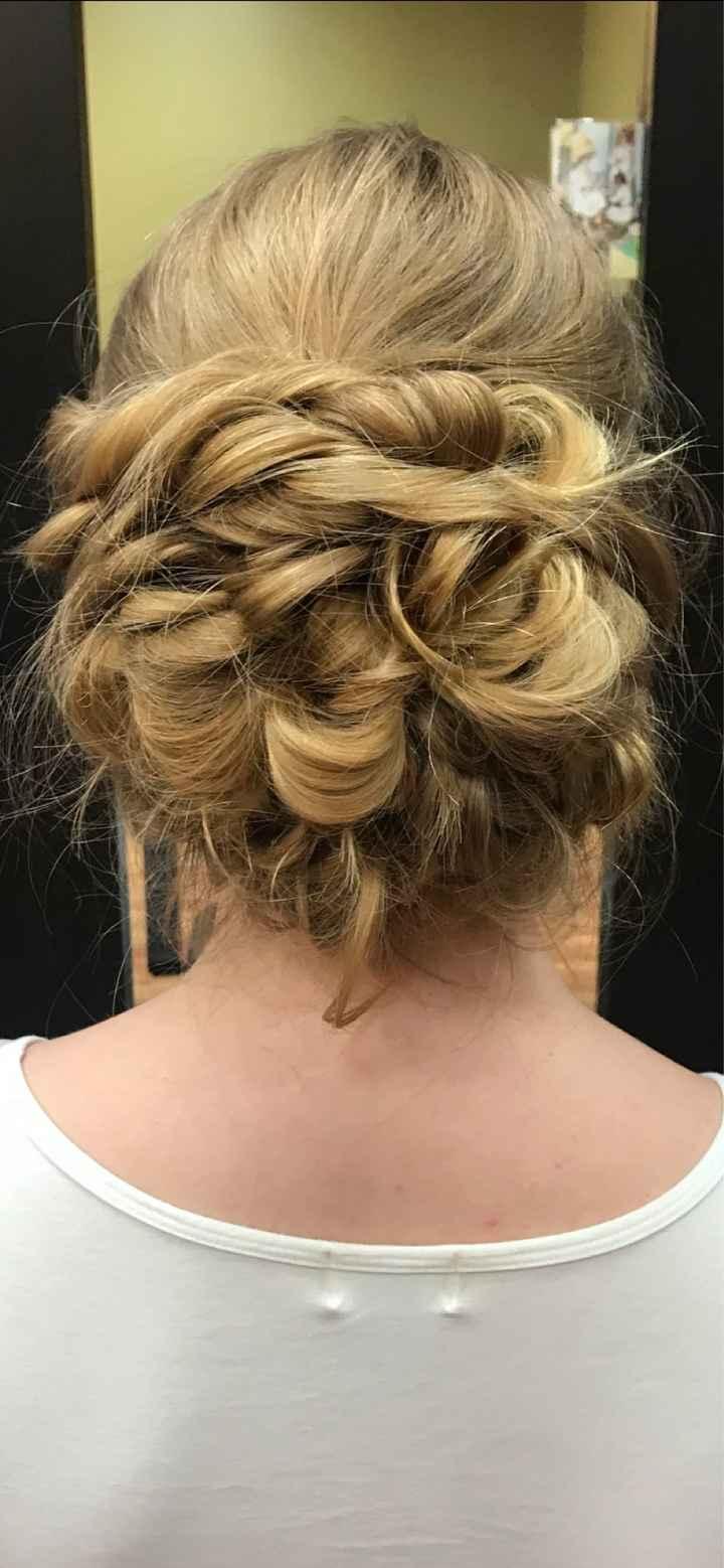 Wedding hair! - 1