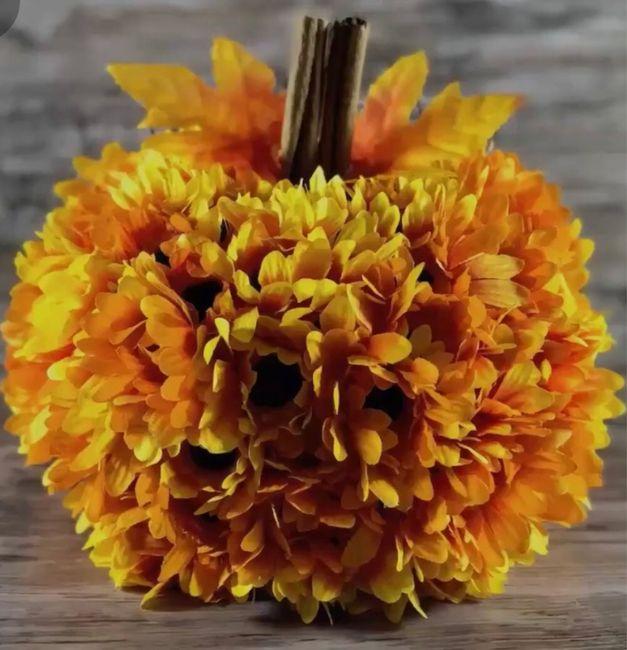 Need ideas for ugly foam pumpkins 4
