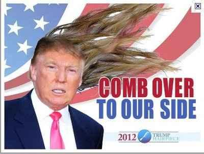 Donald Trump no longer running for office!