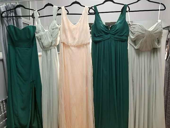 Mismatched Bridesmaids? - 1
