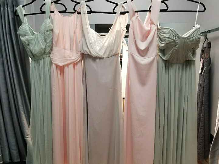 Mismatched Bridesmaids? - 2