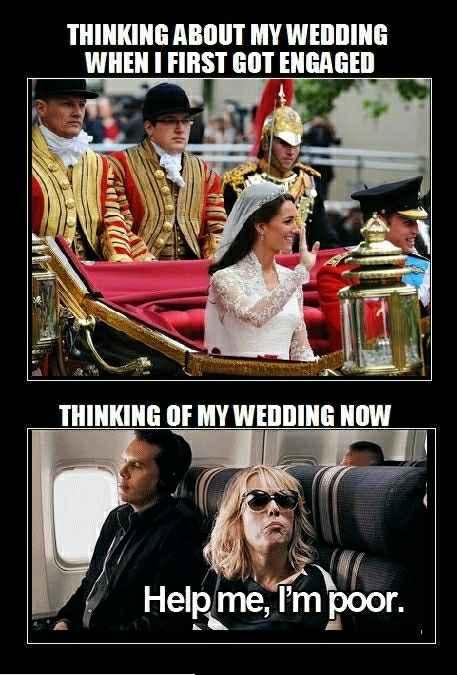 Meme your wedding planning mood - 1