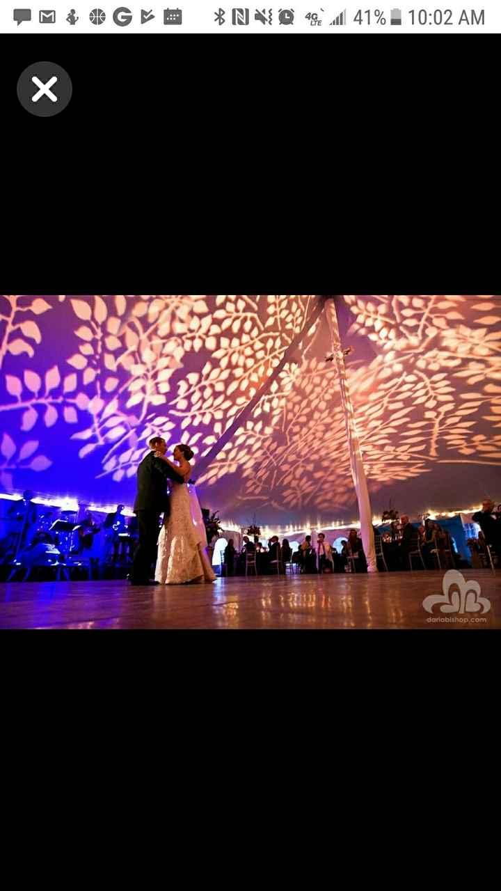 Tent Wedding Reception - 1