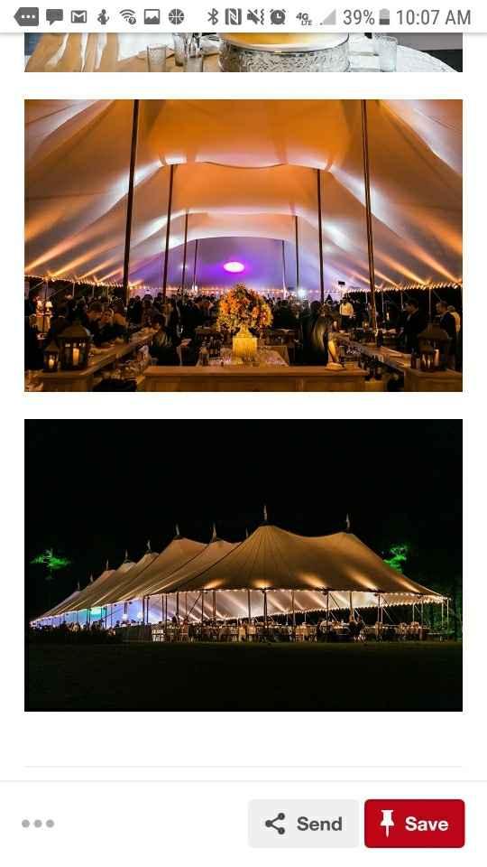 Tent Wedding Reception - 2