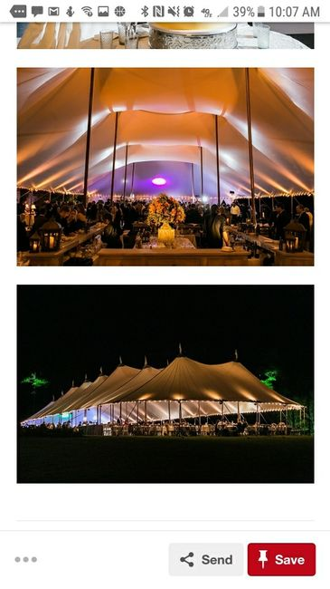 Tent Wedding Reception - 2