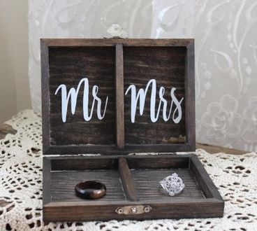 Share what you're holding your rings in for the ceremony! :-) 17