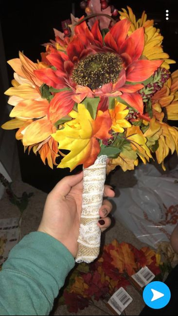 Don't be afraid to diy your flowers! - 1