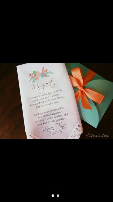 Mother in law gift??? | Weddings, Planning | Wedding Forums ...