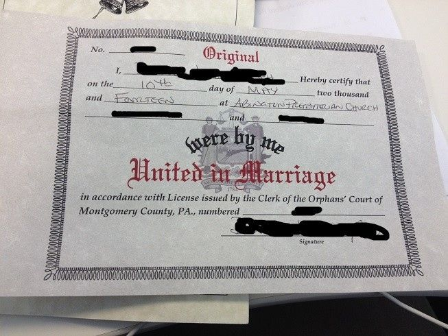 is this my marriage license? | weddings, married life | wedding