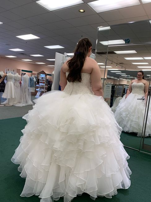 Just want to talk about my dress! 4