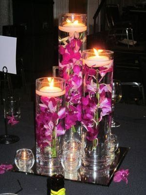 Floating Orchid Diy Centerpieces Weddings Do It Yourself