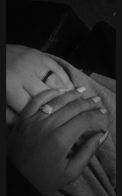 Got engaged 12.24.18 Been together since 10.19.2011
