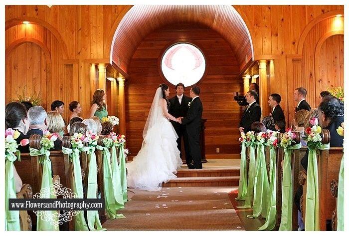 Pew Decor Weddings Planning Wedding Forums Weddingwire