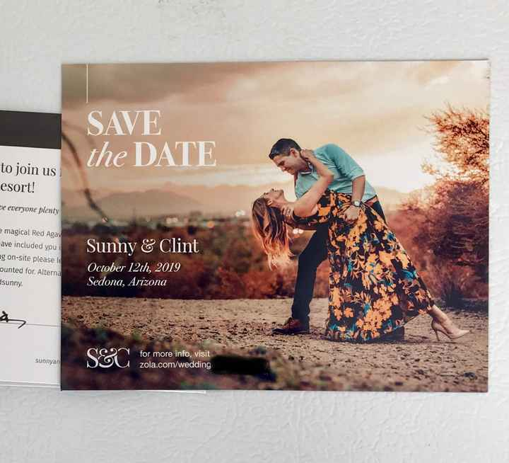 Magnet Save the dates - 1