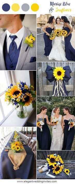Sunflower wedding - 1