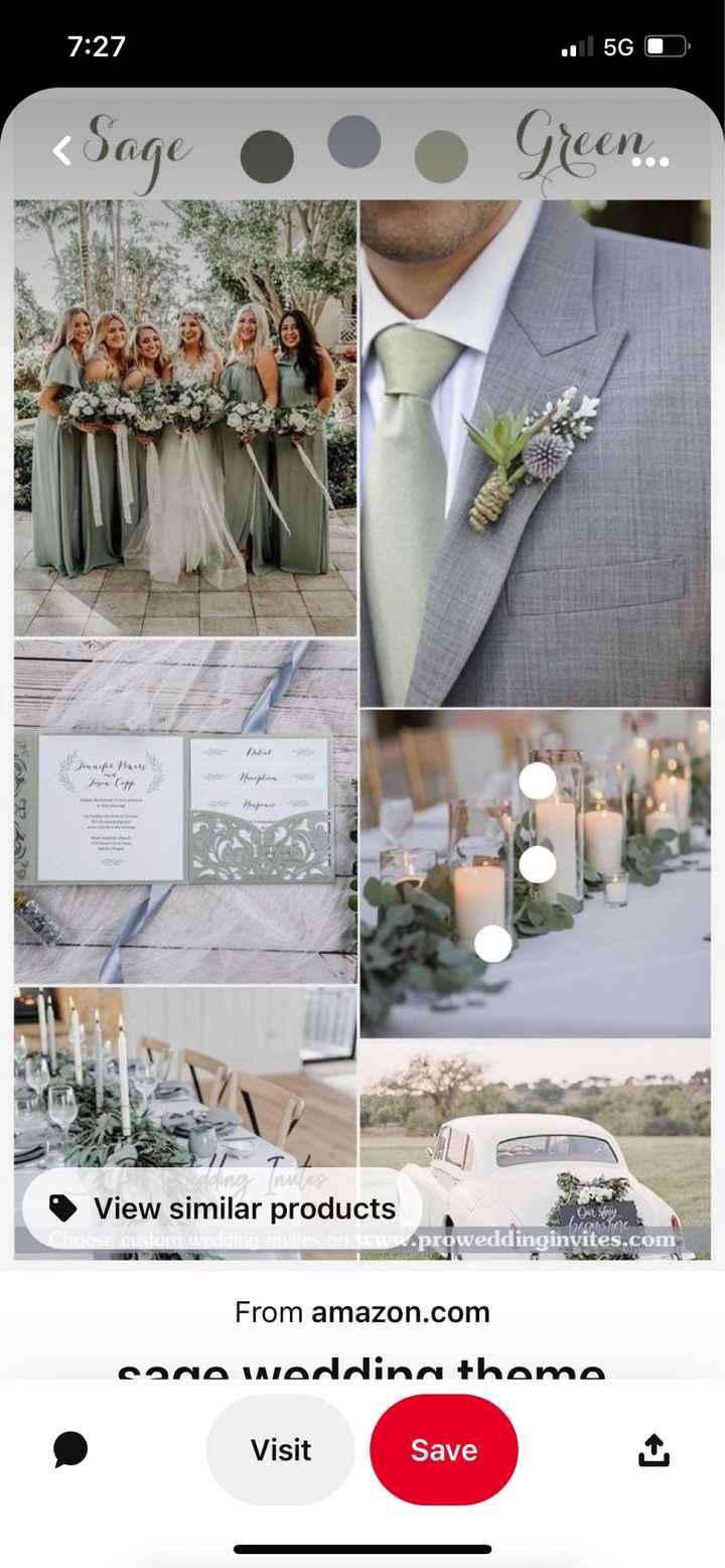 Wedding color theme - 1