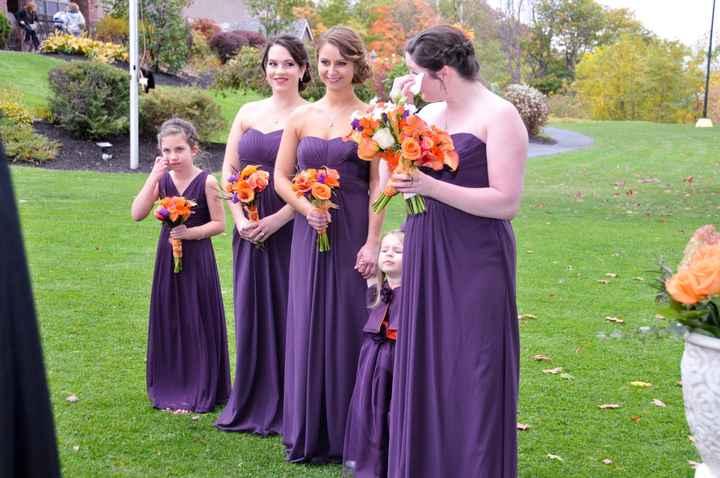 Show me your bridesmaid dresses!