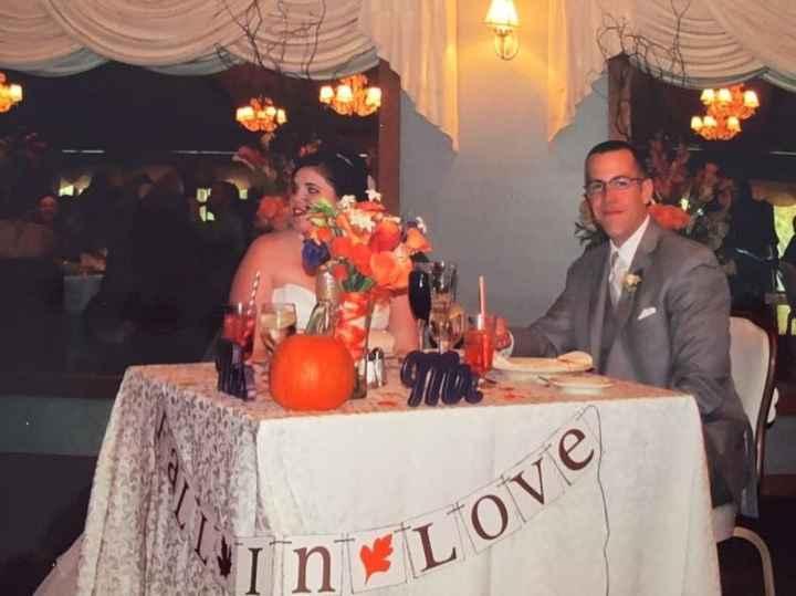 October weddings!!