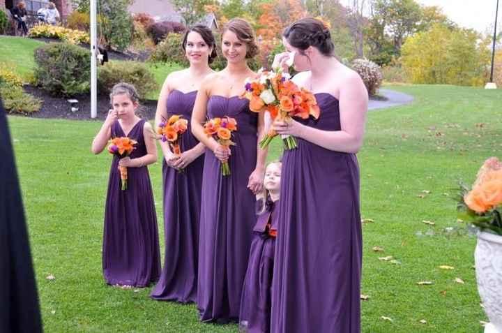 Show me your bridesmaids dresses