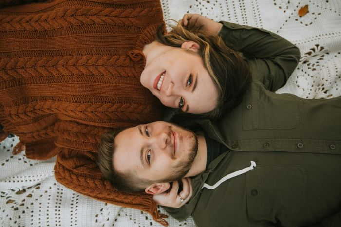 Admidst the Covid-19 panic, post your favorite picture from your engagement shoot. 12