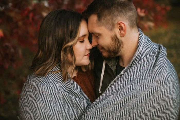 Admidst the Covid-19 panic, post your favorite picture from your engagement shoot. 11