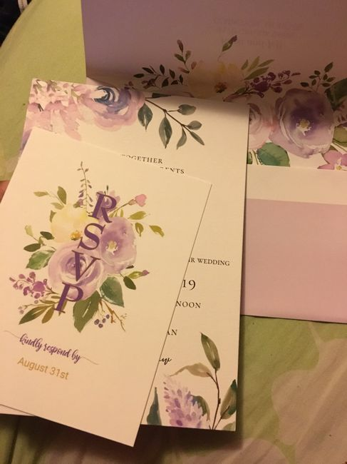 Advice about save-the-dates and invitations 3