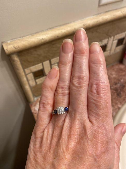 Sapphires as wedding rings! 6