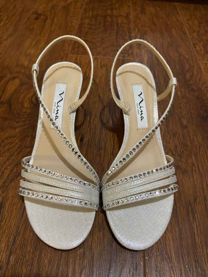 Let's see the bridal shoes! :) - 1