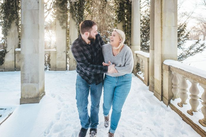 Anyone have engagement photos that are neither cutesy nor glam? 3