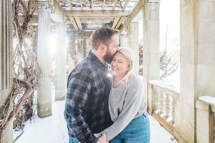 Anyone have engagement photos that are neither cutesy nor glam? 4