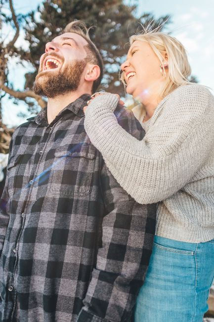 Anyone have engagement photos that are neither cutesy nor glam? 5