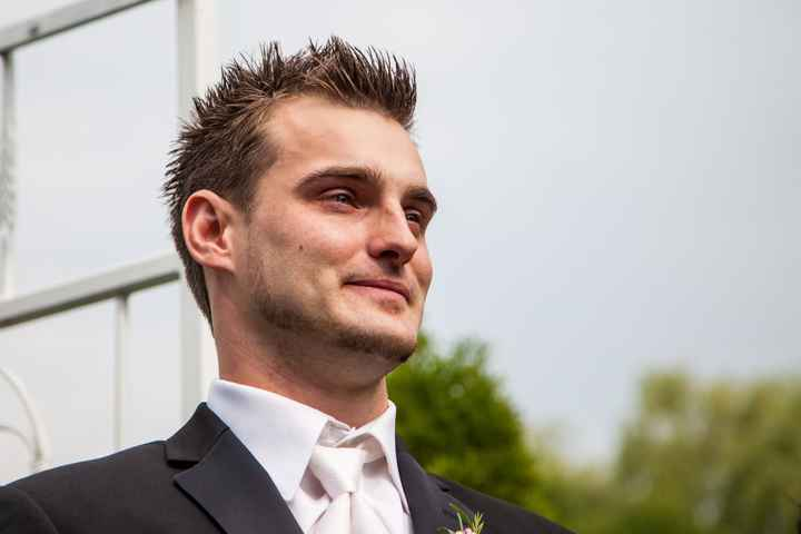 Groom's reactions to seeing their Bride walk down the aisle!