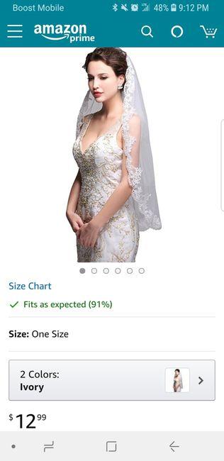 """Show me your """"budget"""" veils! 1"""